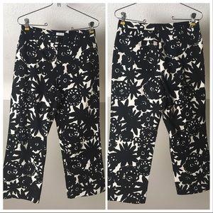 Liz Claiborne tabitha cropped floral pants